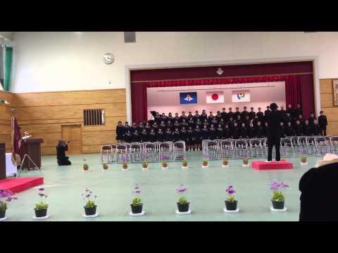 「友~旅立ちの時~」 静岡県磐田市立向陽中学校 卒業式