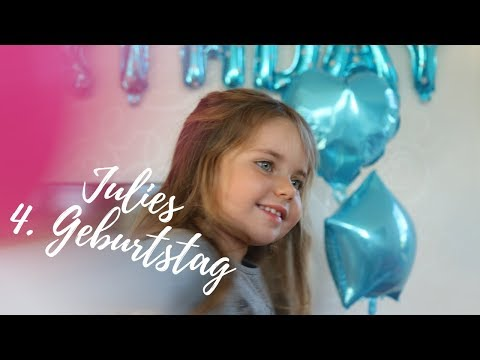 Julies 4.Geburtstag - Frozen Party!!! - Vegane Kuchen & Snacks
