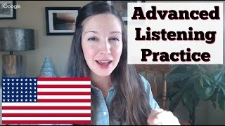 Understand FAST English Conversations [Advanced Listening Practice]