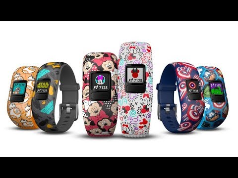 Garmin Made Star Wars and Marvel Fitness Trackers For Kids