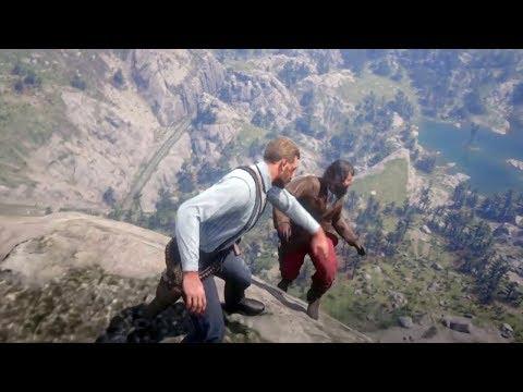 Red Dead Redemption 2 - Funny & Brutal Moments Vol. 39 (Euphoria Ragdolls)