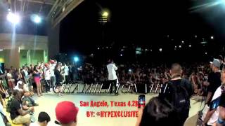 Chamillionaire Performance San Angelo 04.28.12 (Shot with GOPRO 2 HD CAMERA)