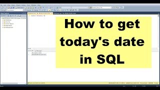 How to get Today's Date in SQL/ Teradata / MySQL & Get Yesterday's Date