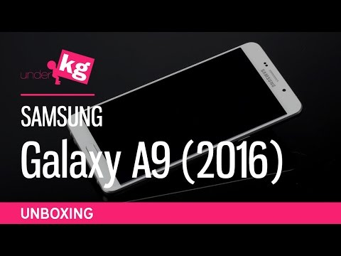 Samsung Galaxy A9 (2016) Unboxing [4K]