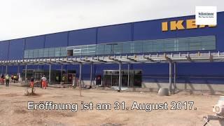 Ikea-Baustelle in Magdeburg