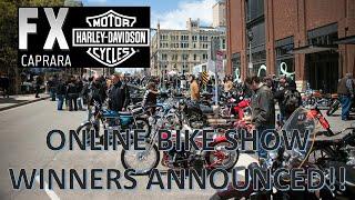 Winners of FXCHD's Online Bike Show