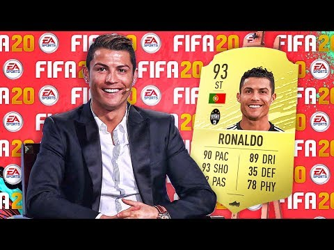 5 Footballers SHOCKED at their *NEW* FIFA 20 Ratings!