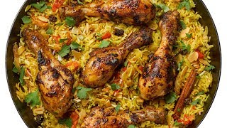 Easy Chicken Biryani at home
