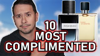 TOP 10 MOST COMPLIMENTED FRAGRANCES OF 2019 | MOST COMPLIMENTED MENS COLOGNES