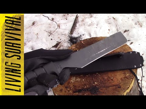 Ontario SP8 Survival Machete Review