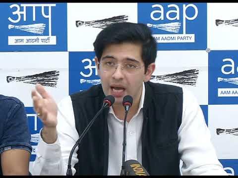 AAP Spokesperson Raghav Chadda Briefs On Petrol and Diesel Prise Hike