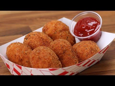 Stuffed Chicken Nuggets