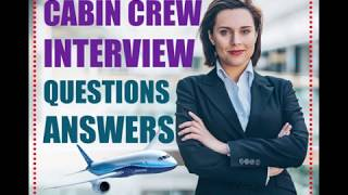 Cabin Crew Interview Questions and Answers (How To Pass)