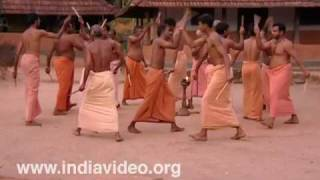 Kolkali, dance with sticks