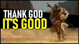 Thank God the Mandalorian is GOOD... Star Wars Needed this!