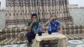 تحدي بيبسي علي وجدي عباس محمد  فزت على عباس اشوفو د اصار  روععععععع