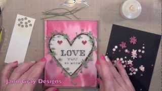 Valentines Card 4 - Stitched Sentiments