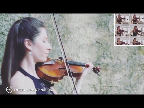 Julia Violinista - Hymn For The Weekend
