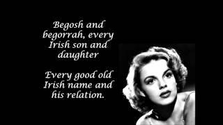 It's a Great Day for the Irish Lyrics.wmv