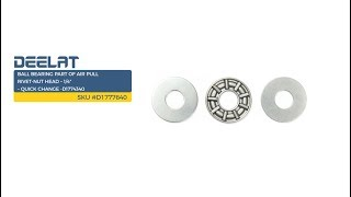 Ball Bearing Part of Air Pull Rivet-Nut Head – 1/4