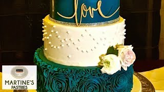 Wedding Cake Decorating : With Fondant Flowers For Your Wedding Cakes | Martines Pastries, Lex KY
