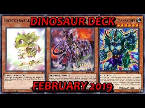 YGO PRO] Dinosaur Deck vs Meta - February 2019 - Dante