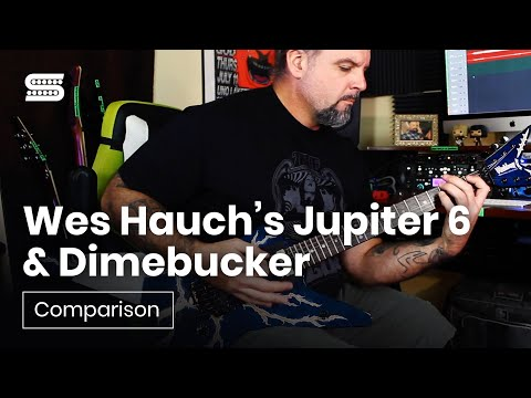 Wes Hauch's Jupiter 6 & Dimebucker Humbucker Comparison