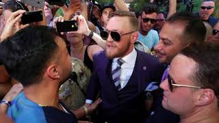 McGregor, Malignaggi Nearly Erupt at T-Mobile Arena