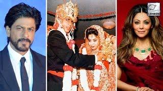 SHOCKING ! Shahrukh Khan Married Gauri THRICE??