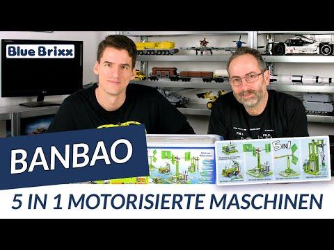 BanBao 5 in 1 motorisierte Maschinen