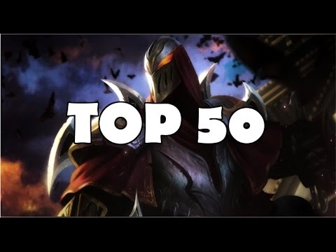Top 50 Zed Plays In League Of Legends History Mp3