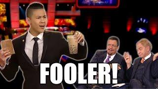 Youngest Returner FOOLS MASTERS! | Kevin Li on Penn and Teller Fool Us