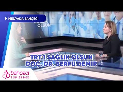 TRT Haber – Doç. Dr. Berfu Demir – Sağlık Olsun