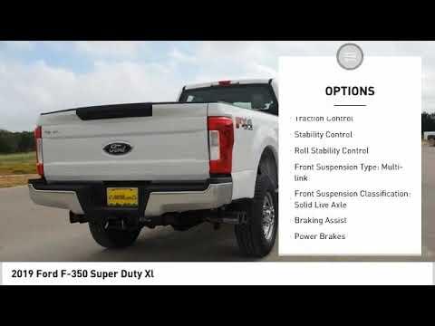 2019 Ford F-350 Super Duty Xl NewNew or Used 192599