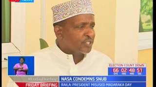 NASA reacts to Raila Odinga's snub at Madaraka day Celebrations in Nyeri