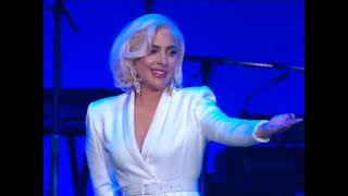 <b>Lady Gaga</b> Performing At Hurricane Relief Concert