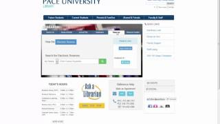Accessing E-Reserves Tutorial Spring 15