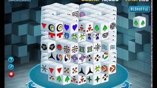 Mahjongg Dimensions 3D mahjong online game