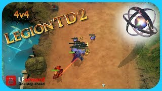 Legion TD 2 | Egg Sack Stand-Off - hmong video
