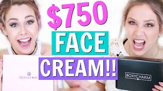 $750 FACE CREAM? | UNBOXING - BOXYCHARM VS GLOSSYBOX - MAY by Eleventh Gorgeous