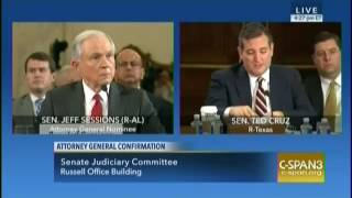 Key Capitol Hill Hearings Cruz on Sessions