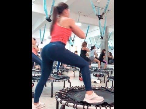 Estefanía Caballero haciendo ejercicio uff muy recomendable 2019 OCT 22