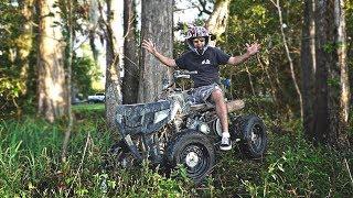 420cc ATV Revival | Rat Rod Quad!