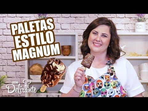 Paletas TIPO MAGNUM Caseras | Cocina Delirante