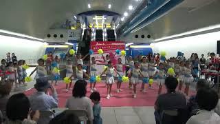 2018/9/30横浜ダンスパラダイス パフォーマンス キッズチア みなとみらい