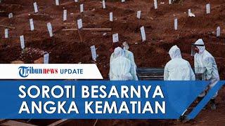 Media Asing Soroti Statistik Kasus Covid-19 Indonesia Mengkhawatirkan yang Buat PPKM Diperpanjang