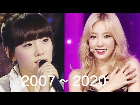 소녀시대/솔로 활동으로 보는 태연(Taeyeon)의 성장기