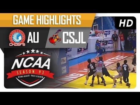 AU vs. CSJL | NCAA 93 | Game Highlights | September 19, 2017