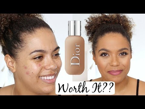 Dior Face and Body Foundation Review (OILY SKIN WEAR TEST)