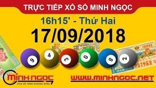 Xổ số Minh Ngọc™ Thứ Hai 17/09/2018 - Kênh chính thức từ Minhngoc.net.vn